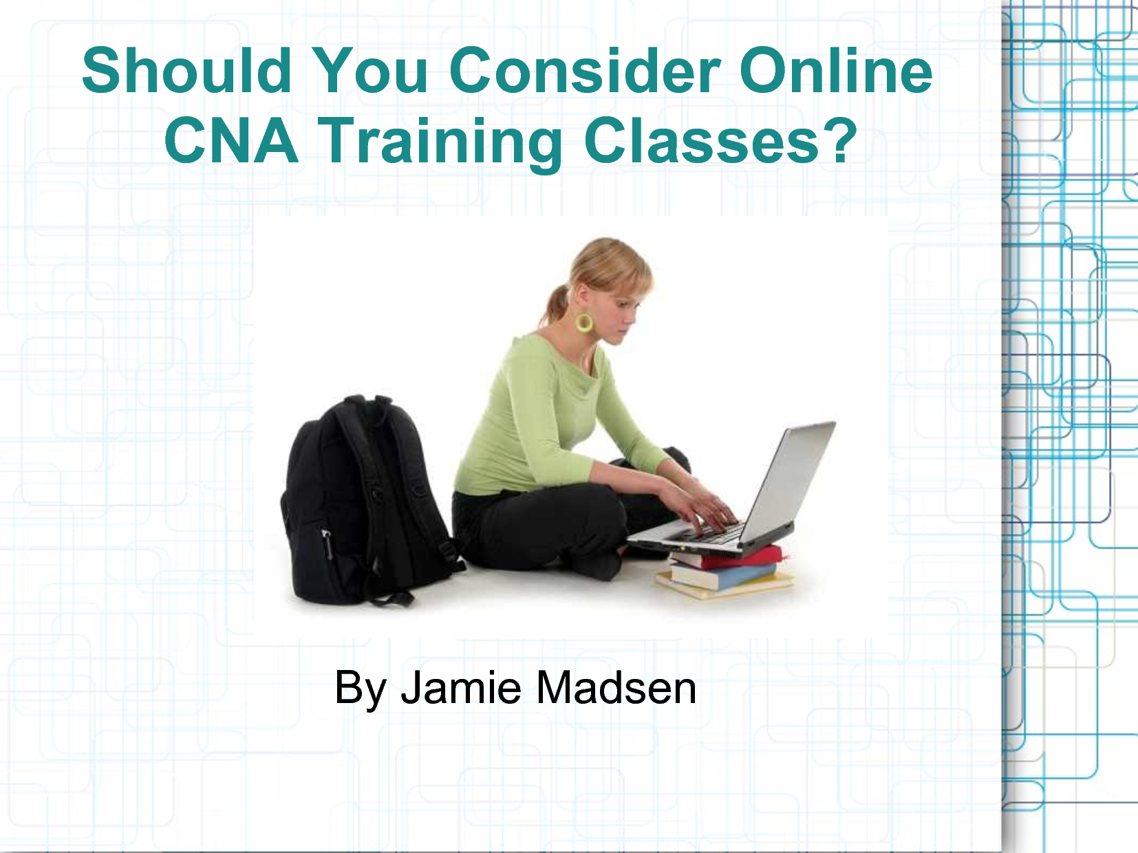Points To Remember While Taking Online Cna Classes My Own Cna Classes